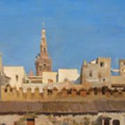 The Giralda. Seville Poster