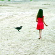 The Girl And The Raven Poster