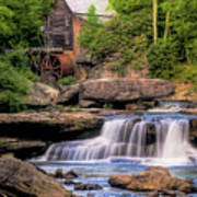 The Glade Creek Mill Poster