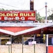 The Golden Rule Bbq In Birmingham Poster