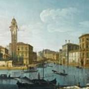The Grand Canal At The Entrance Poster