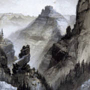 The Grand Canyon Drawing            Poster