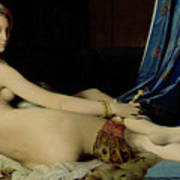 The Grande Odalisque Poster