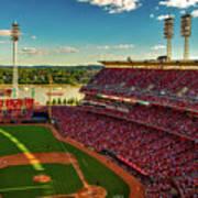 The Great American Ball Park - Cincinnati Poster