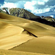 The Great Colorado Sand Dunes Color Print Poster
