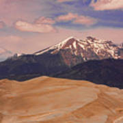 The Great Sand Dunes And Sangre De Cristo Mountains Poster