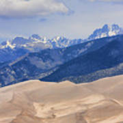 The Great Sand Dunes Color Print 45 Poster