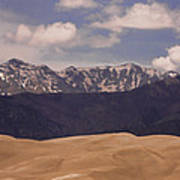 The Great Sand Dunes Panorama 1 Poster