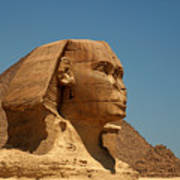 The Great Sphinx Of Giza Poster