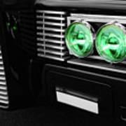The Green Hornet Black Beauty Clone Car Poster