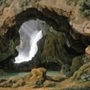 The Grotto Of Neptune In Tivoli Poster