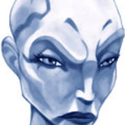 The Hairless Harpy Aka Asajj Ventress Poster