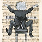 The Happy Pianist Poster
