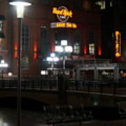 The Hard Rock At The Inner Harbor Poster