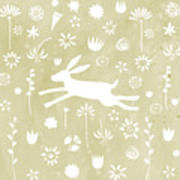 The Hare In The Meadow Poster