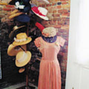The Hat Rack Poster