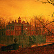 The Haunted House Poster by John Atkinson Grimshaw