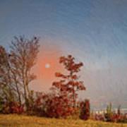 The Hazy Horizon. Poster