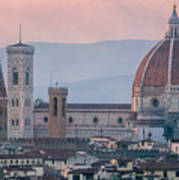 The Heart Of Florence Italy Poster
