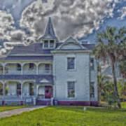 The Historic Rabb Plantation Home Poster