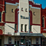 The Historic Texas Theatre Poster