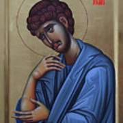 The Holy Apostle And Evangelist John The Theologian Poster