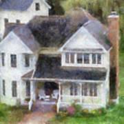 The Homes Of Mackinac Island Michigan 02 Pa Poster