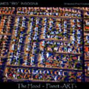 The Hood - Planet Art Poster