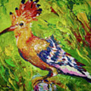 The Hoopoe Poster