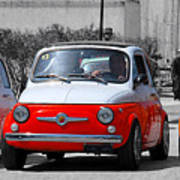 The Italian Small Car Poster by Alessandro Matarazzo