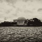 The Jefferson Memorial Poster by Bill Cannon