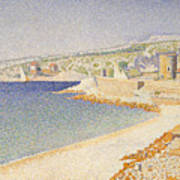 The Jetty At Cassis Poster