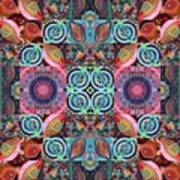 The Joy Of Design Mandala Series Puzzle 7 Arrangement 1 Poster