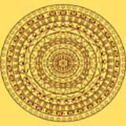 The Jungle Mandala Poster