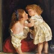 The Kiss  after John Morgan 1800 Poster