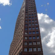 The Kollhoff-tower ...  Poster by Juergen Weiss