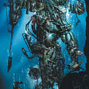 The Kraken Poster by Paul Davidson