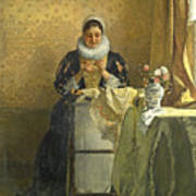 The Lace Maker  Poster