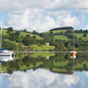 The Lake District Popular Beautiful Uk Holiday Destination Ullswater Cumbria North England Poster