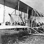 The Langley Airplane Poster