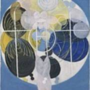 The Large Figure Paintings  No  5 Group 3  Hilma Af Klint 1907 Poster