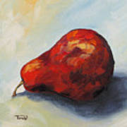 The Lazy Red Pear II Poster