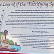 The Legend Of The Petrifying Springs Poster