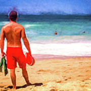 The Life Guard Poster