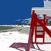 The Lifeguard Stand Poster