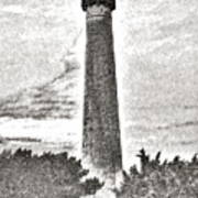 The Lighthouse At Cape May Poster