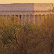 The Lincoln Memorial, Seen Poster