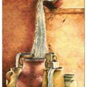 The Living Water Poster by Denise Armstrong