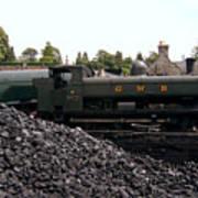 The Locomotive Yard Poster