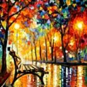 The Loneliness Of Autumn Poster by Leonid Afremov